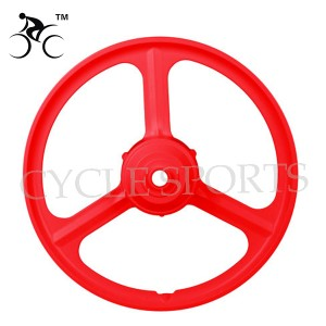SK MTB magnesium & aluminium alloy rim 20 inch 3 blades electric (sample not for sale)