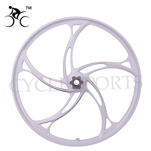 SK MTB magnesium & aluminium alloy rim 24 inch 5 blades (sample not for sale)